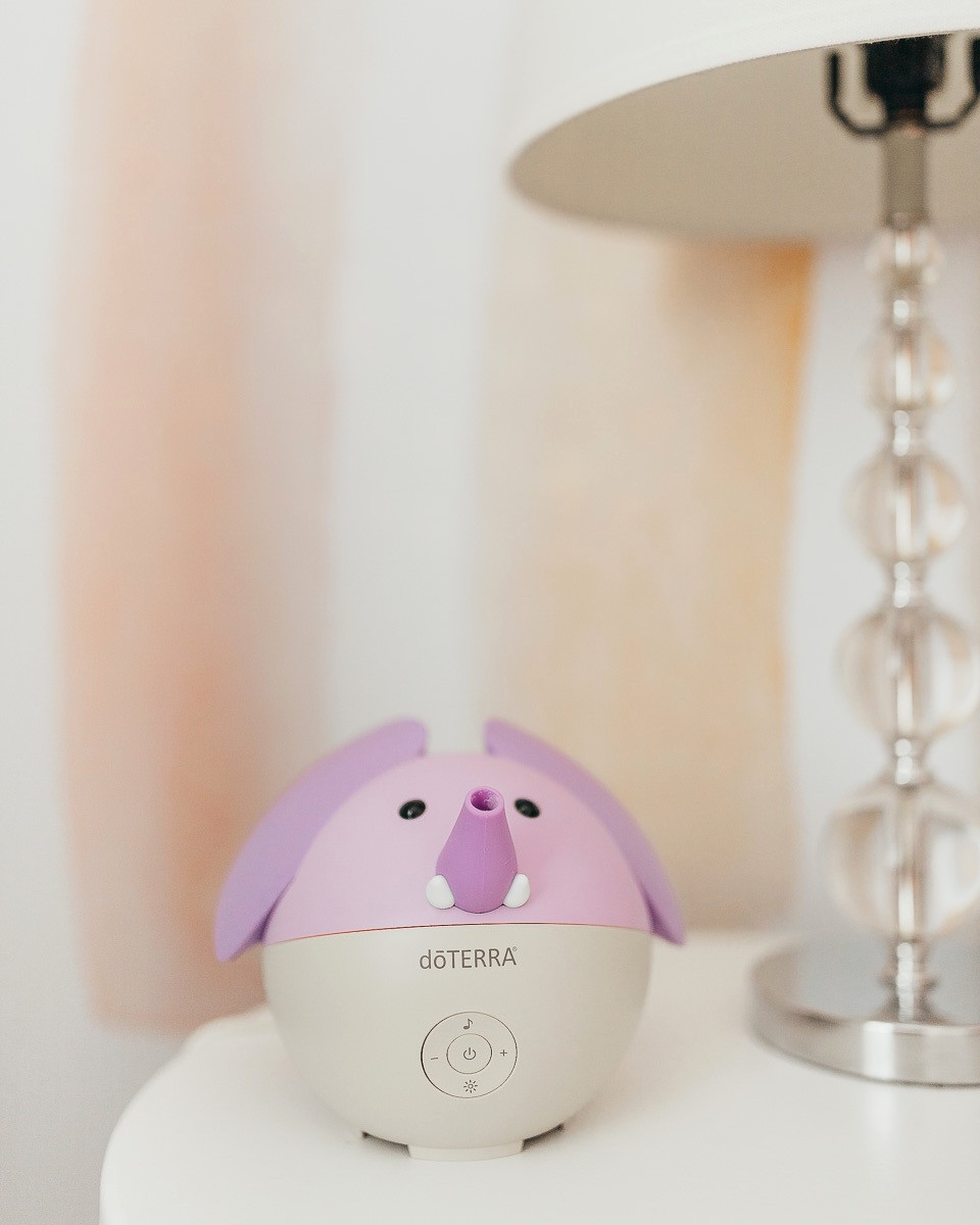 A Dottera kids oil diffuser and night light.