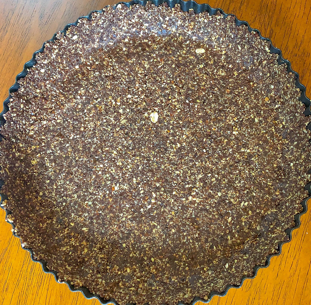 vegan dark chocolate tart crust
