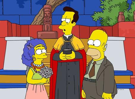 Marge y Homero homenajean a Frida Kahlo y Diego Rivera en nuevo capítulo😱