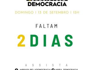 """PALCO VIRTUAL REÚNE ARTISTAS E PERSONALIDADES EM """"LIVE"""" EM DEFESA DO BRASIL, DA DEMOCRACIA E DA VIDA"""