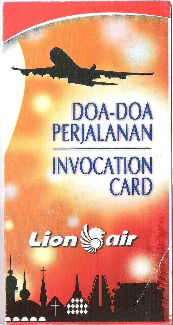 Invocation Card Lion AIR carte de prière