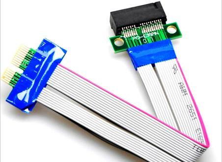 PCI-Express PCI-E 1X Riser 플렉시블 라이저카드