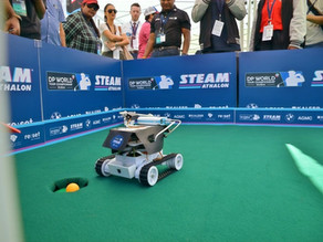 First AI Golf Robot Champion Crowned at the DP World Tour Championship STEAMathalon