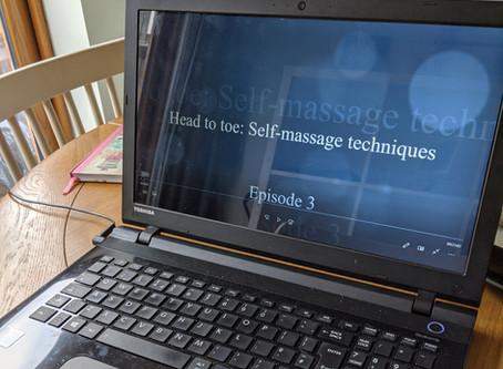 Head to toe: Self massage techniques - Episode 3