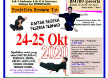 KURSUS SENAMAN TUA - 24 & 25 Okt 2020
