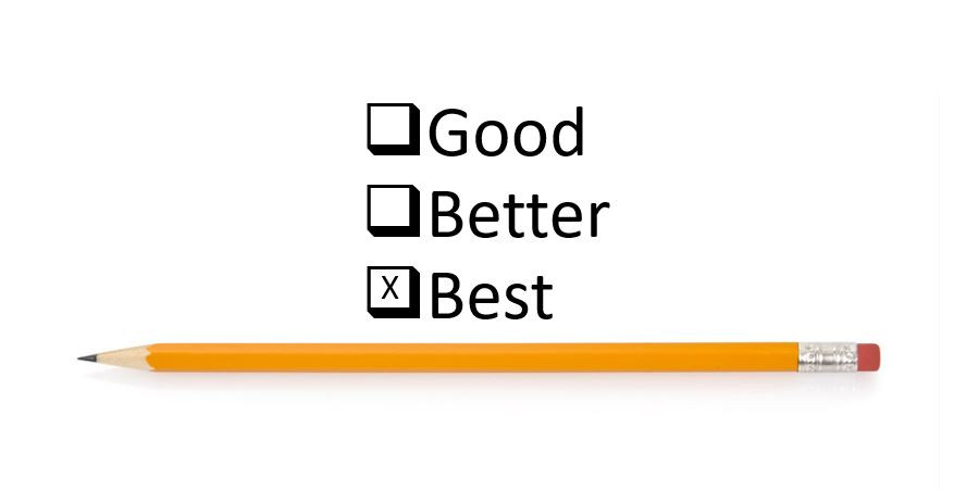 Good, better, and best salespeople