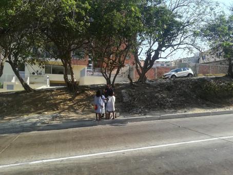 Niños Indígenas kogui recurren a la mendicidad en Barranquilla