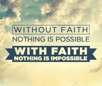Supersize My Faith - Faith that can move Mountains...