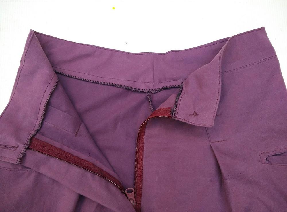 Inside waistband