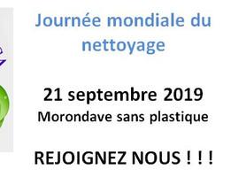 21 sept, journée mondiale du nettoyage
