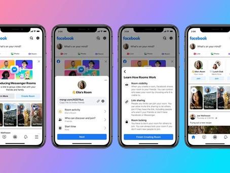 Facebook anuncia app de videoconferência concorrente do Zoom