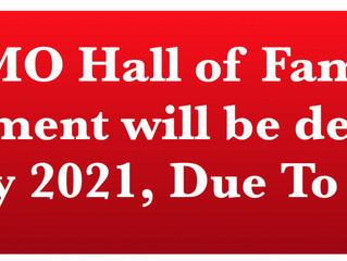 2020 TACAMO HALL OF FAME INDUCTEES Selection Postponed