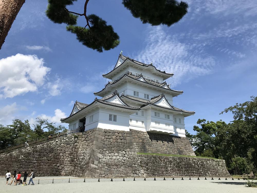 小田原城と城下町