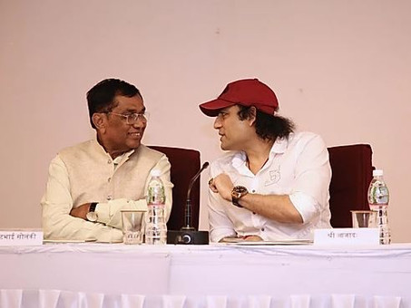 Megastar Aazaad will be Remembered for Centuries, Kirit Premjibhai Solanki MP
