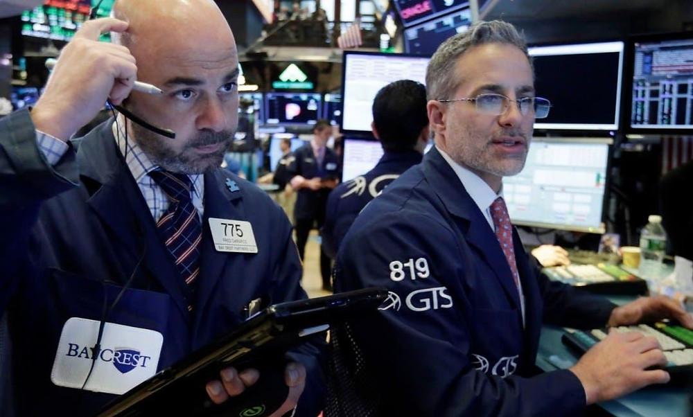 Caida en Wall Street