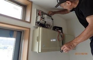 エアコン設置や漏電に関して