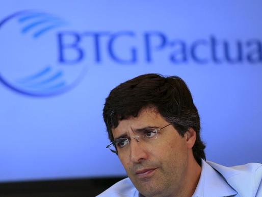 BTG cai mais de 12% com operação da PF investigando banco e André Esteves