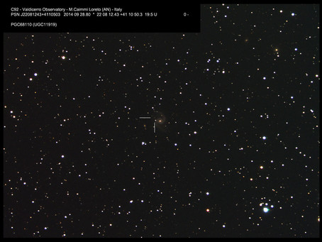 SUPERNOVA in PGC68110 ...my first SN!