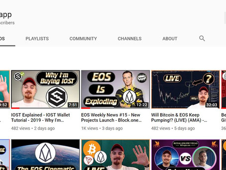 Blockchain news from the MaxDapp YouTube channel...we're on it and ready!