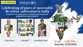 Celebrating 18 Years of Successful Bt Cotton Cultivation in India