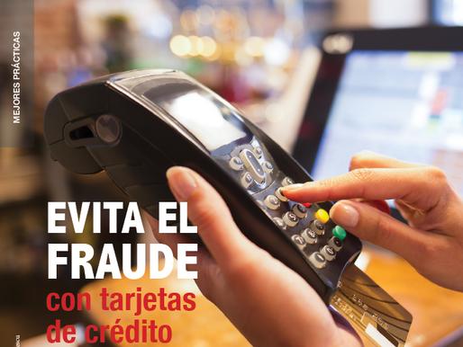 EVITA EL FRAUDE con tarjetas de crédito