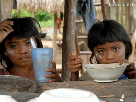 Indígenas wayúu  protestan por el programa de alimentación del ICBF