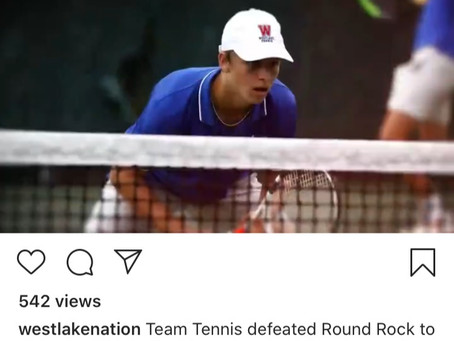 Chap Tennis Bi-District Champs