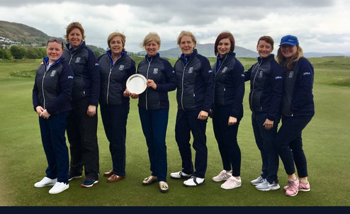 Shandon Park Ladies Winners of The Plate at North West Golf Club