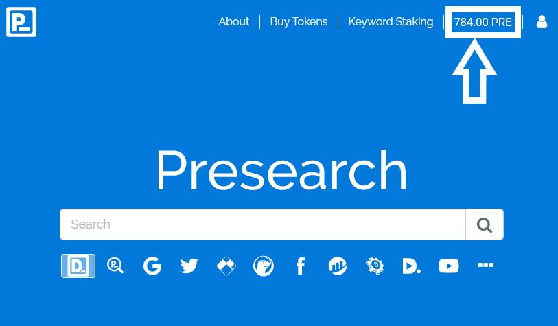 Presearch PRE crypto