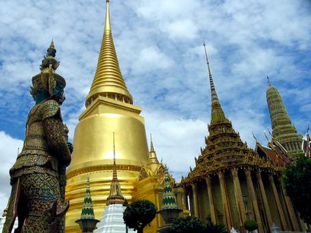 S houslemi po Bangkoku