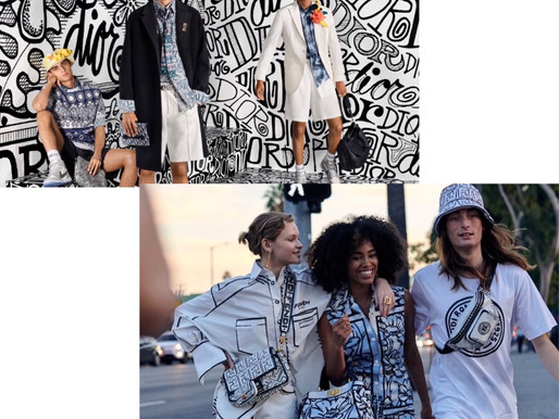 Dior & Fendi's FW20 battle of Sharpie-like Graphics