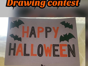 Halloween Drawing Contest !!