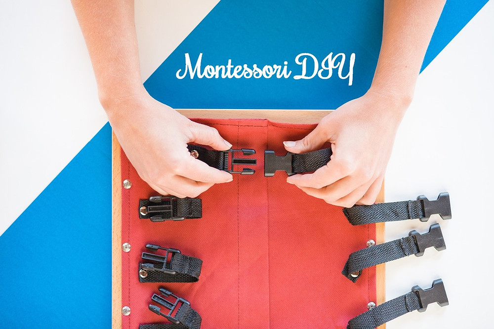 Pomoce i zabawki rozwojowe Montessori DIY