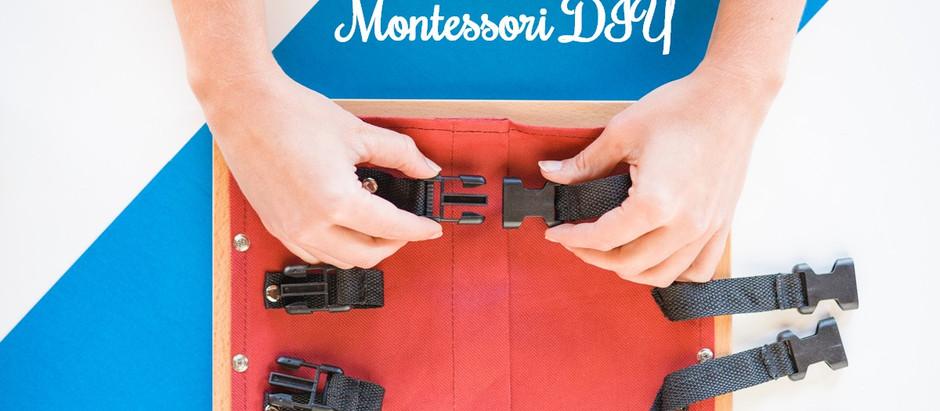 Ramki ubraniowe - Montessori DIY