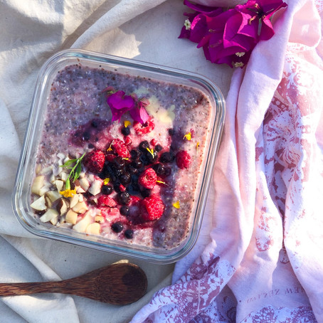 Superfoods Breakfast: le Pink Bircher