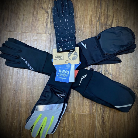 Snowy Run? Here are some items we're gLOVE-ing!
