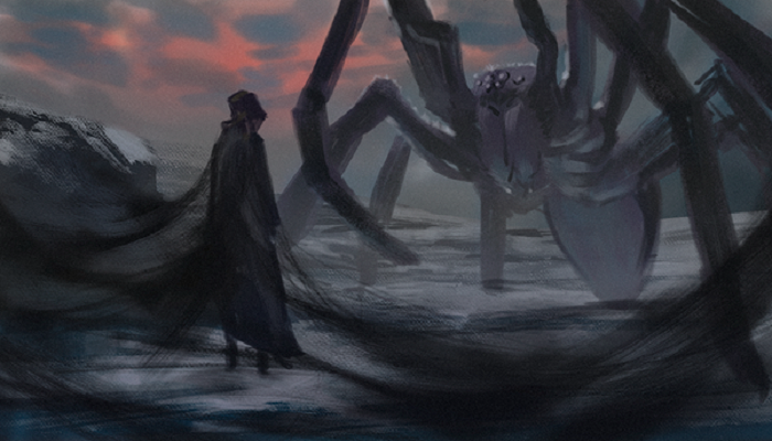 Where did Ungoliant come from? Is it ever stated? Also, was she ...