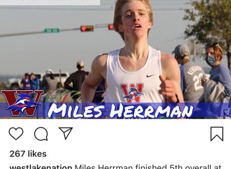 Top 10 and Personal Best-Mile Herrman