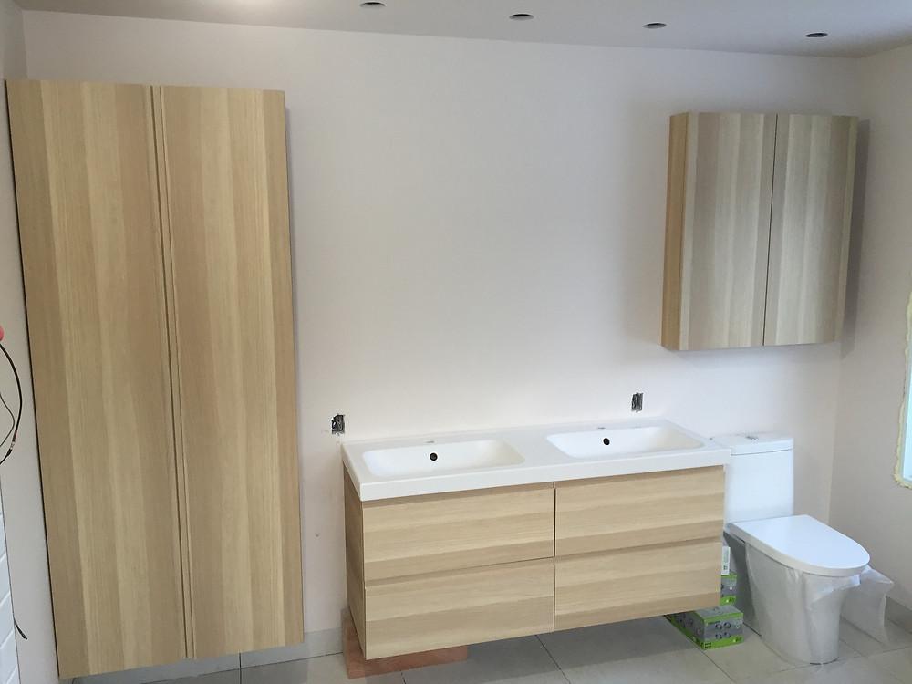 Salle de bain installation à Québec 2