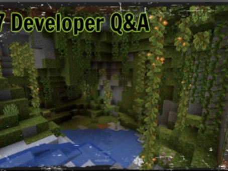 Mojang holds developer Q&A for the Minecraft 'Caves and Cliffs Update'