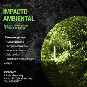 WEBINAR - Impacto Ambiental | CABAAC