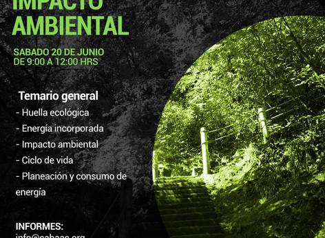 WEBINAR - Impacto Ambiental   CABAAC