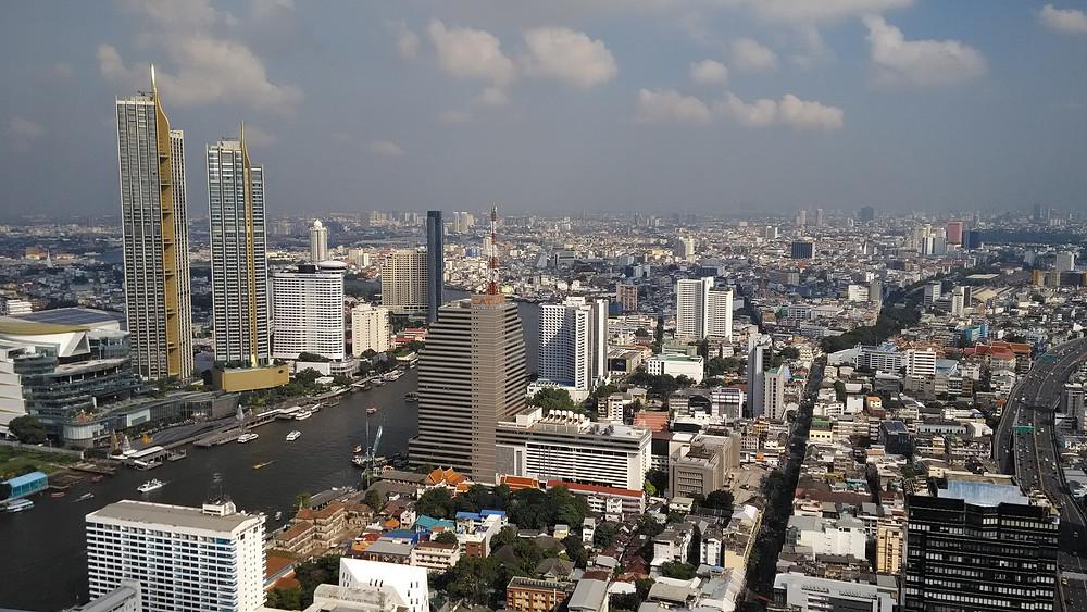 Bangkokissa hukkaneliöt ovat harvinaisempia.