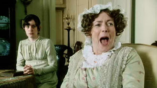 """""""Oh Mr. Bennet, you have no compassion for my poor nerves!"""""""