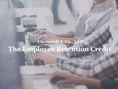 IRS Extended COVID-19 Tax Credit for Employers Who Keep Workers on Payroll