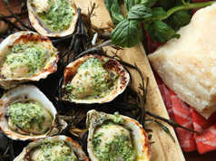 Great Grilled Oysters