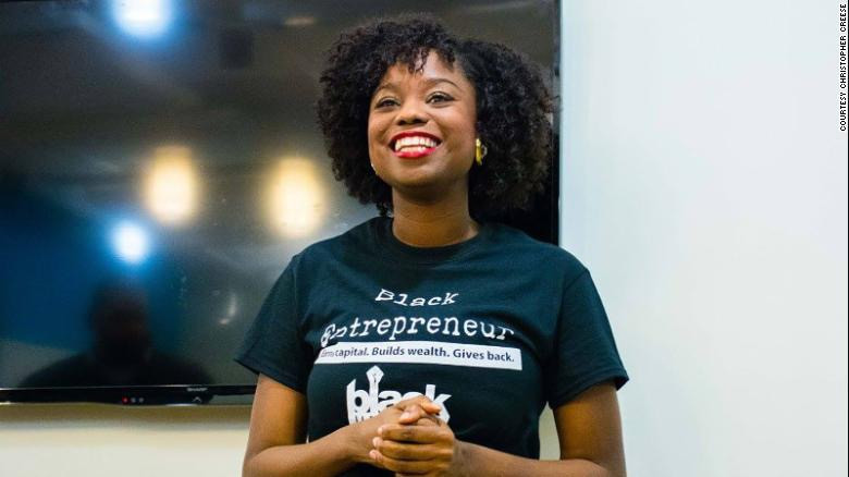 Kezia Williams is the founder of Black upStart, an organization that trains Black entrepreneurs.