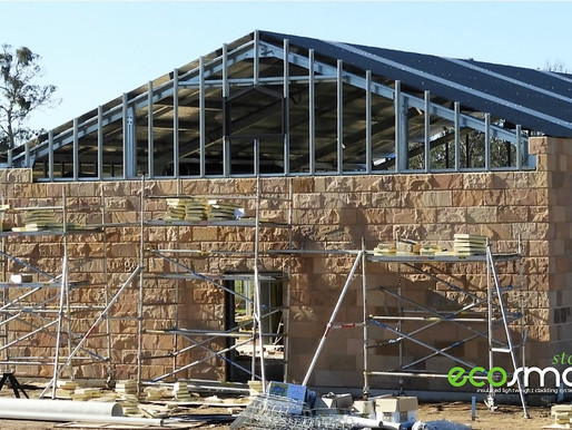 """""""HALF the cost of STONE wall cladding installations with direct to stud fixing."""""""