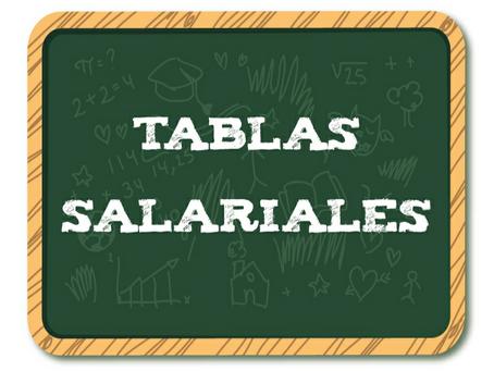TABLAS SALARIALES  2019