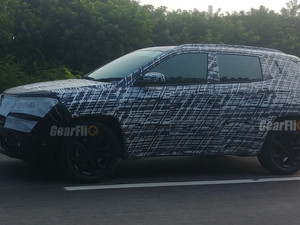 2021 Jeep Compass Facelift Spied Testing in India
